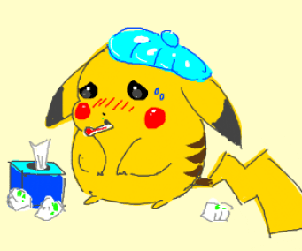 Sick Pikachu