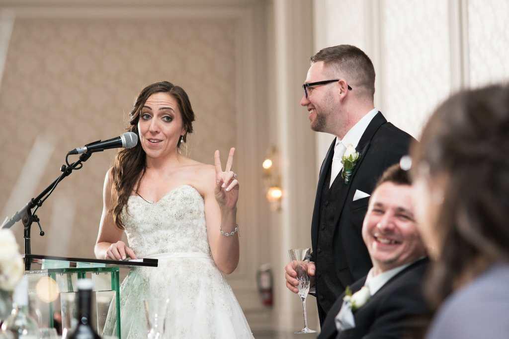 bride and groom speech photos hazelton manor