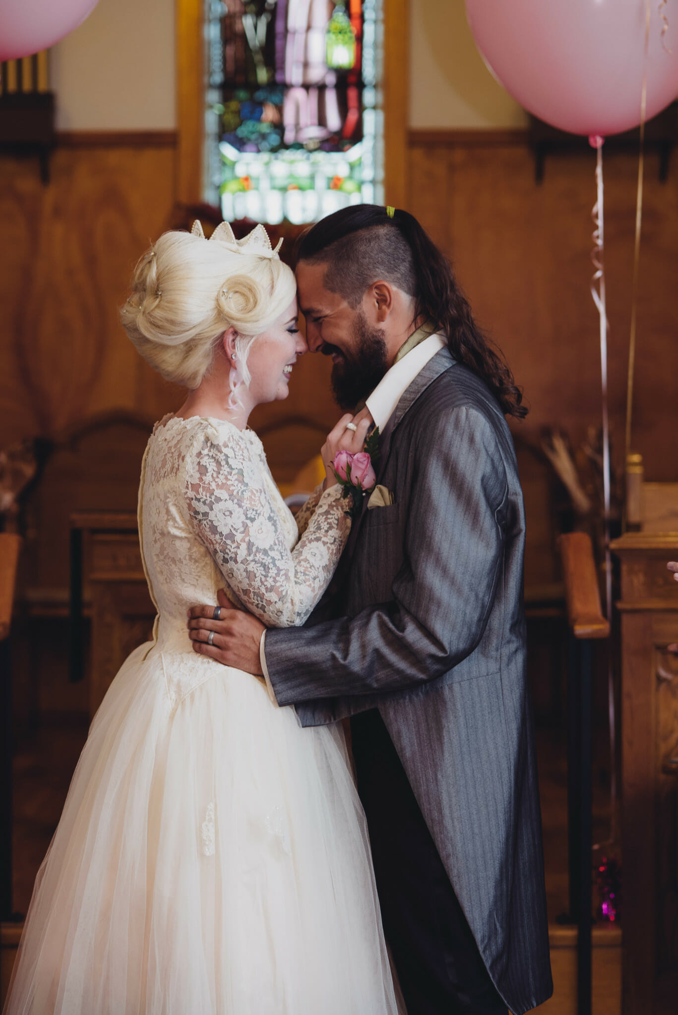 happy newlyweds at kedron church oshawa