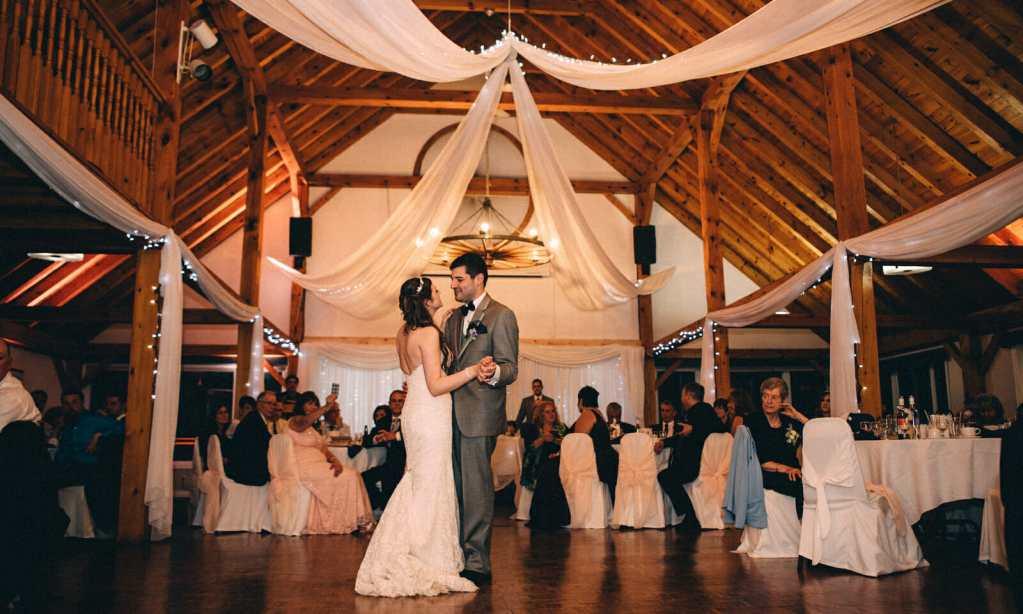 first dance trillium trails wedding oshawa