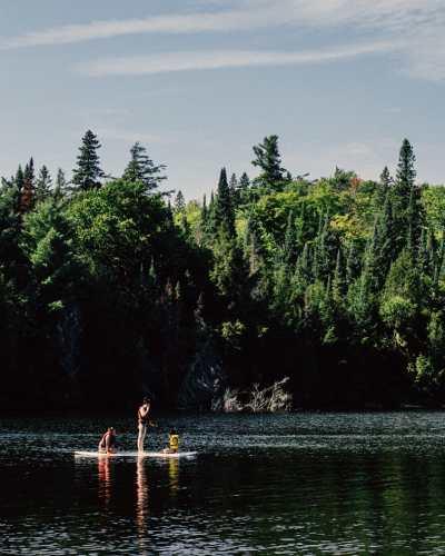 algonquin park best camping spots