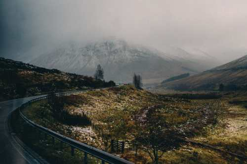 a82 into glencoe from glasgow scotland