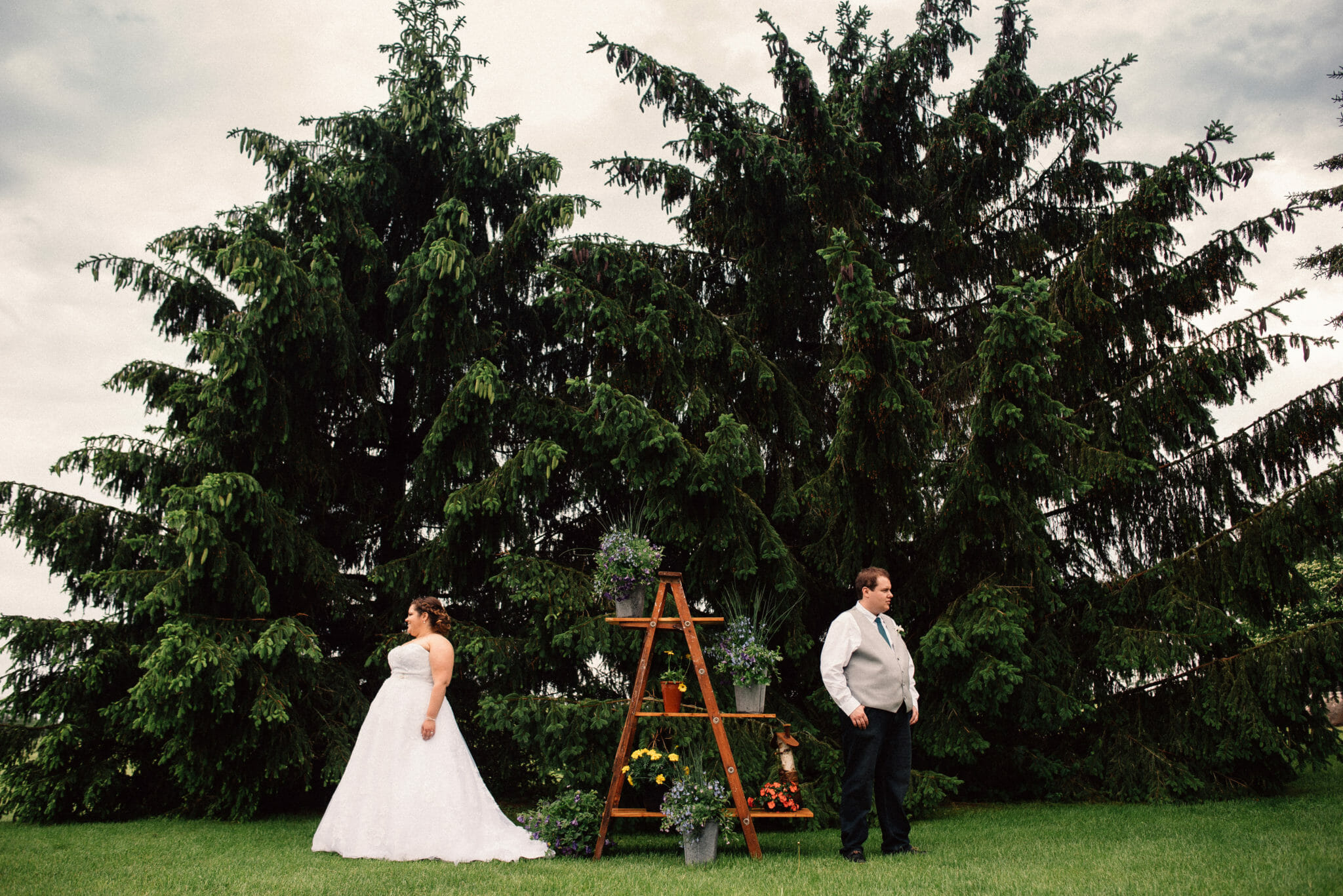 pickering wedding photography rustic country theme