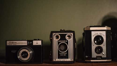 vintage kodak brownie cameras