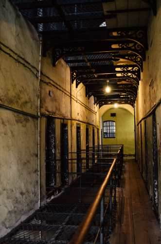 inside the hallways of kilmainham gaol museum dublin