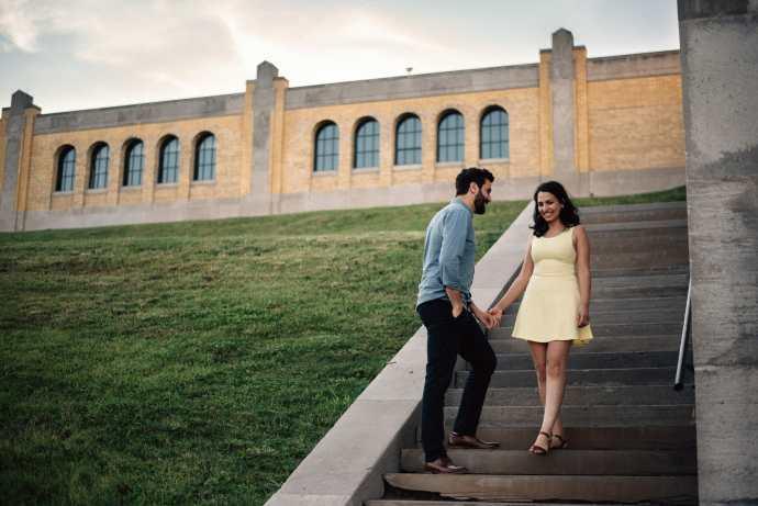 rc harris engagement photos toronto