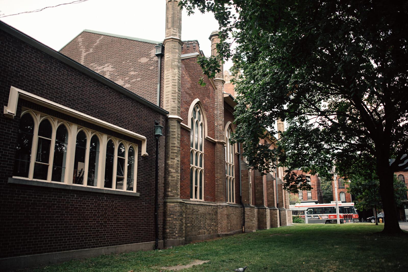 little trinity Anglican church toronto