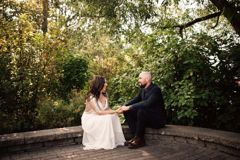 wedding photos in nottawasaga inn wedding garden