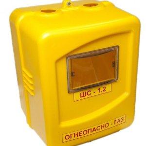 Шкаф для газового счетчика 110 мм (пластик)