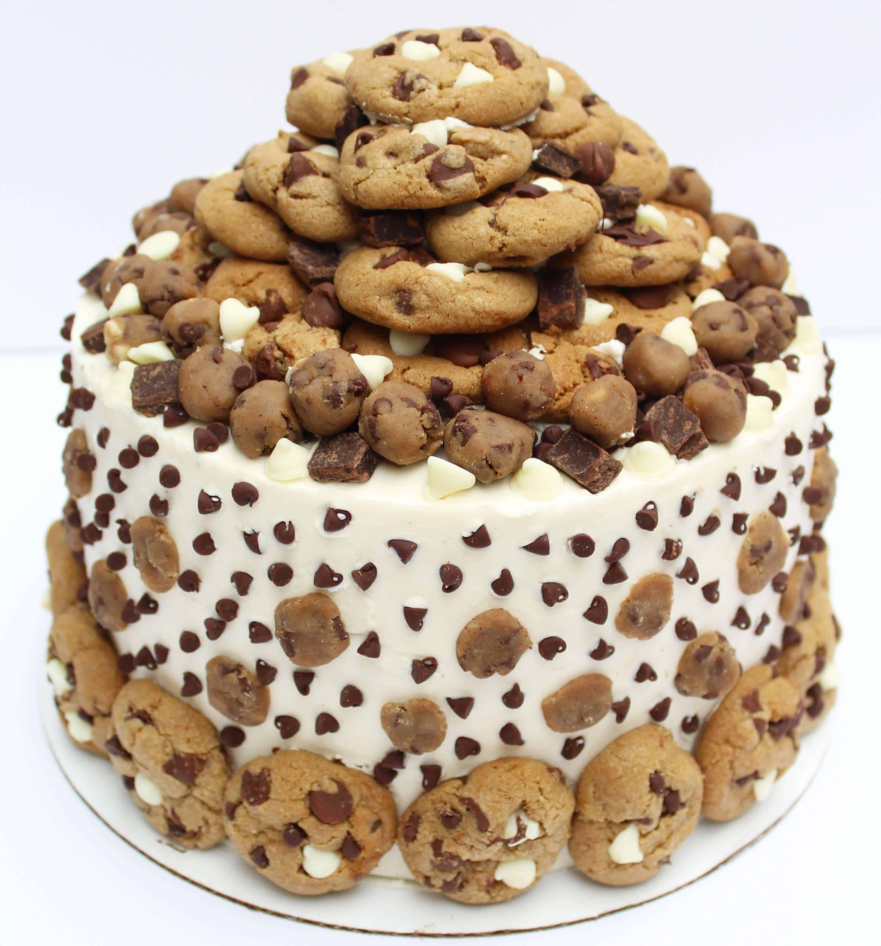 Ultimate Chocolate Chip Cookie Dough Cake