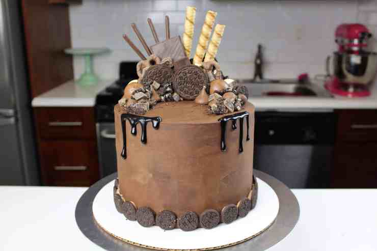 Chocolate Overload Cake – Chelsweets