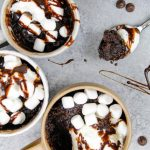 Hot Cocoa Mug Cake Easy Recipe For One Chelsweets