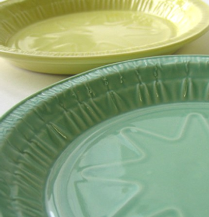 Retake on take-out, *classic din-din* dinner ware by Lorena Barrezuetae