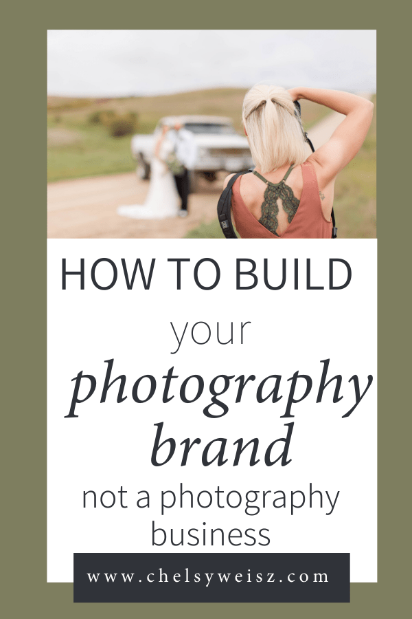 Build a brand not a business