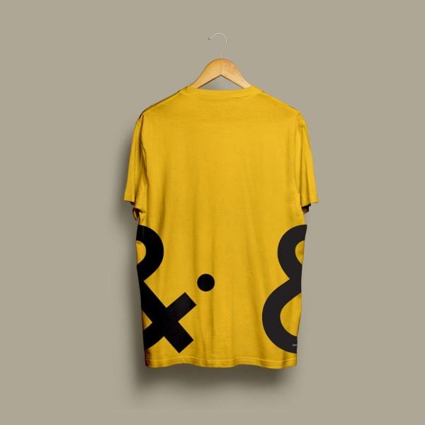 Cheltenham Design Festival Tshirt Back