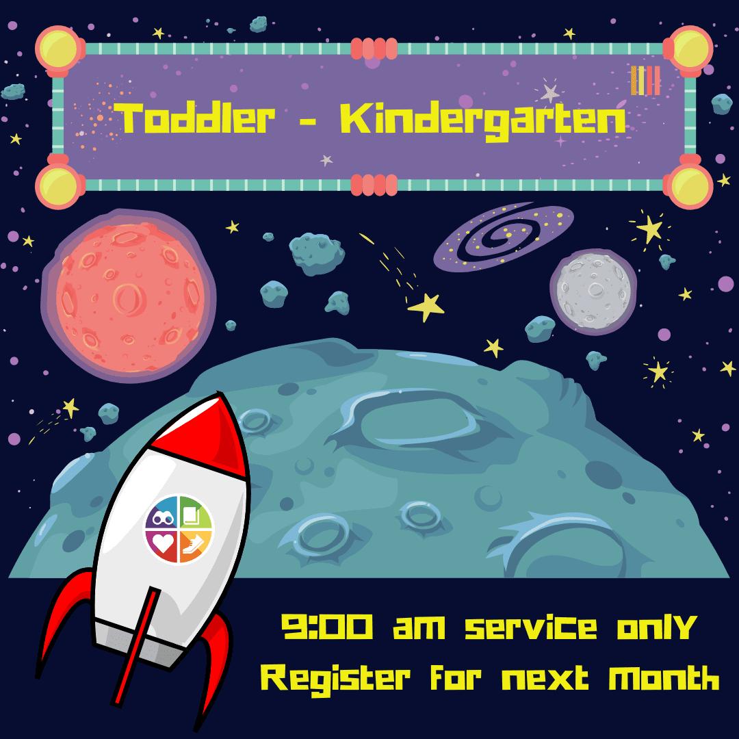 Toddler - Kindergartener Registration