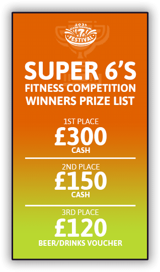 Functional Fitness prizes 2021