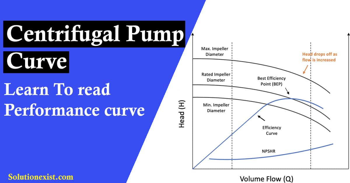 Read Centrifugal Pump Curve Pump Performance Curve In Detail