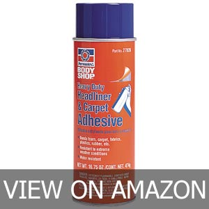 Best Water-Resistant headliner adhesive