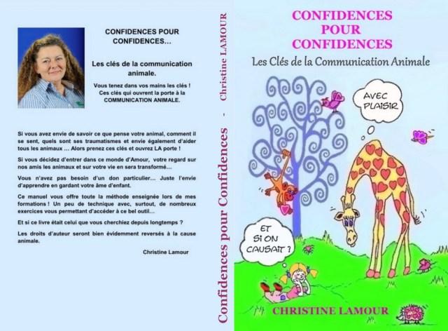 LIVRE : Confidences pour Confidences - Les clés de la communication animale 1
