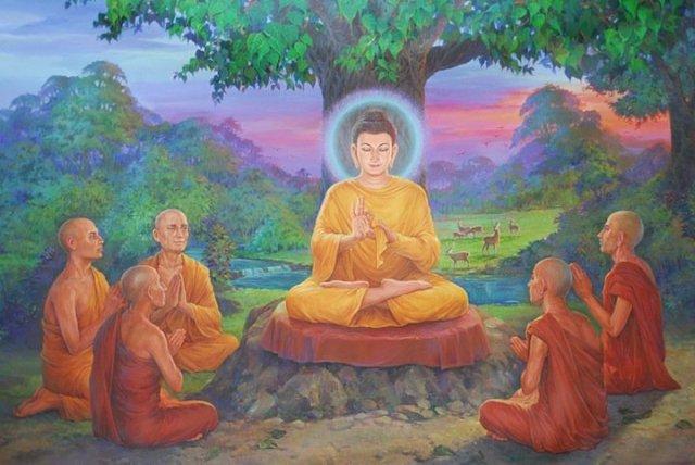 Le bouddhisme et la vie des moines de tradition Theravada 1