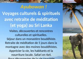 Voyages culturels et spirituels au Sri Lanka 1