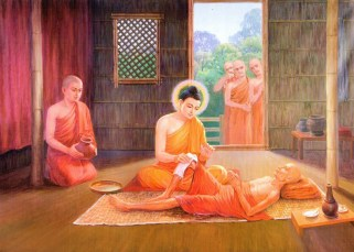 Girimananda sutra, une histoire de la vie de Bouddha 3