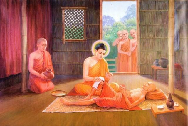 Girimananda sutra, une histoire de la vie de Bouddha 1