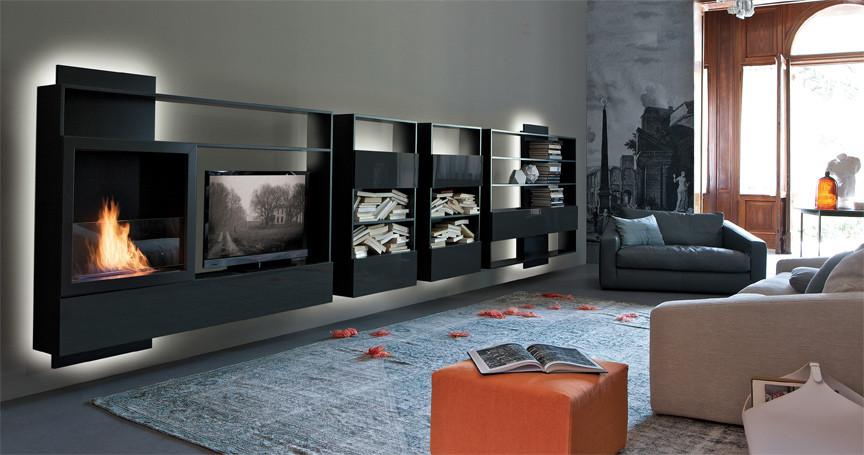 comparatif meuble tv avec cheminee