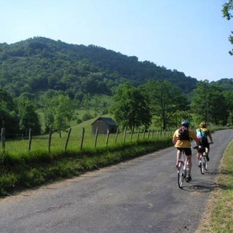Itineraire Circuit Velo Vtt Sud Ouest France Pau Bearn