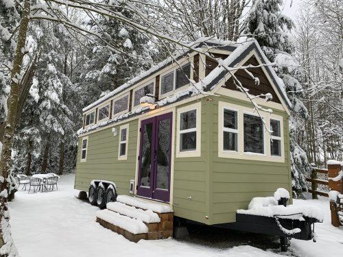 Tiny house micro-maison mobile écologique