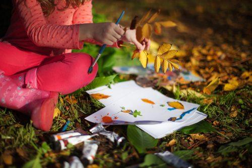 Ecole en forêt pédagogie de la nature