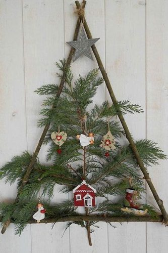 Sapin de Noël DIY naturel