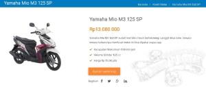 Kredit Motor Yamaha Mio M3 125 SP