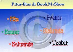 Fitur BookMyShow