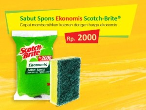 Sabut Ekonomis Scotch Brite