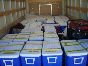 Legal Sampling Water in Coolers