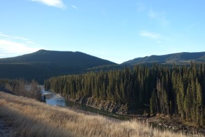 Red Deer River at Ya Ha Tinda