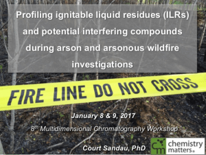 Profiling ignitable liquid residues (ILRs) and potential interfering compounds during arson and arsonous wildfire investigations