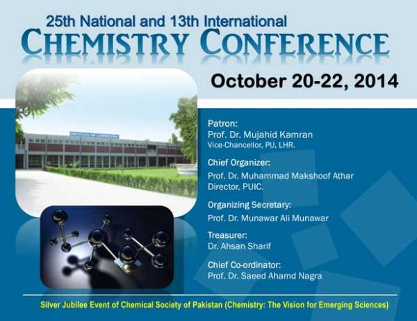 25th National and 13th International Chemistry Conference