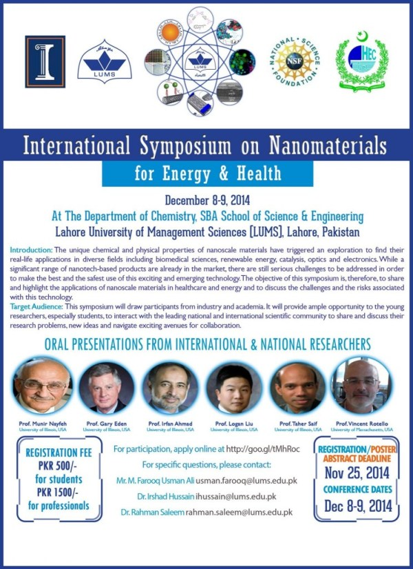 International Symposium on Nanomaterials