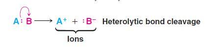 heterolysis