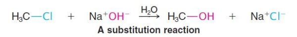 substitution reaction