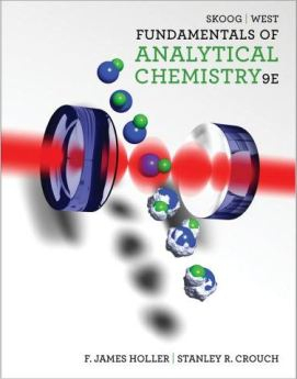 Skoog Fundamentals of Analytical Chemistry ninth edition