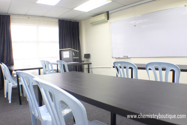 Lecture Room for IGCSE Tuition