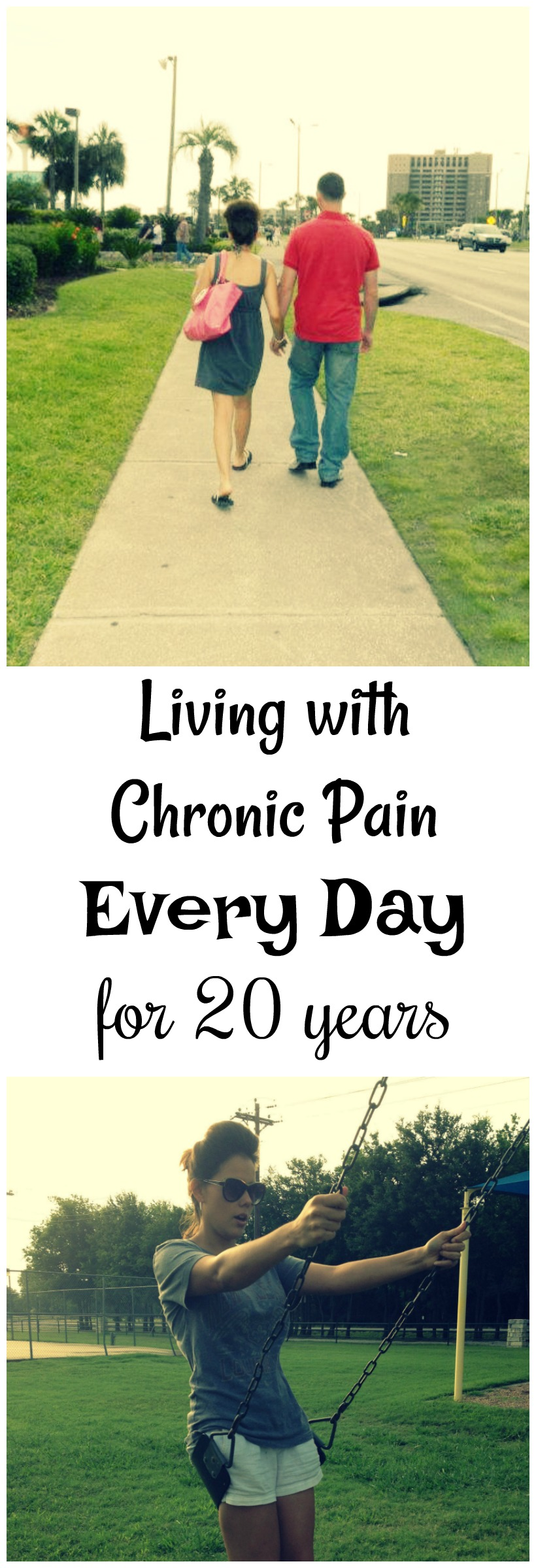 Living with Chronic Pain Every Day for 20 years. And you can get through it too on chemistrycachet.com
