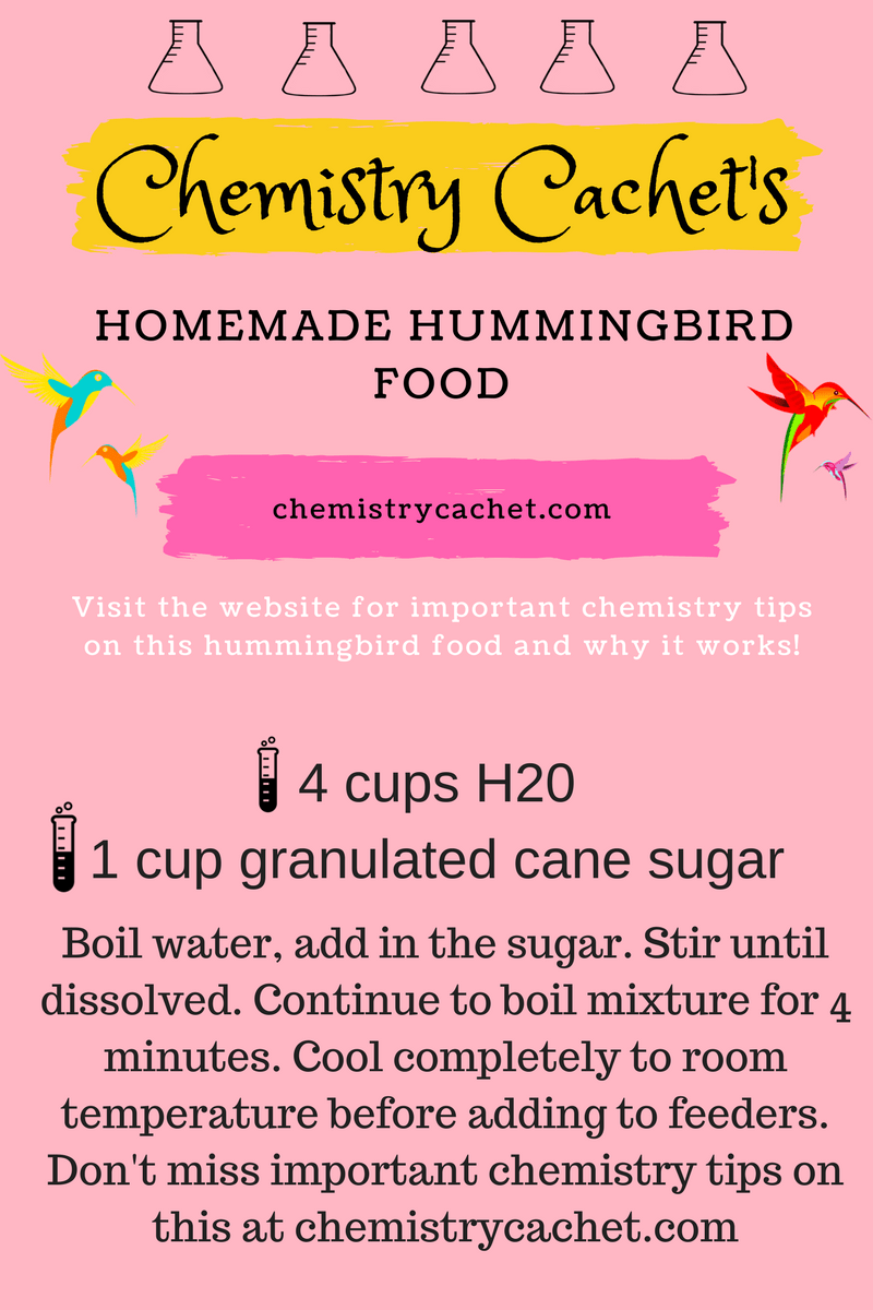 Easy homemade hummingbird food recipe plus important tips easy homemade hummingbird food recipe plus chemist tips for keeping mold away bees and forumfinder Image collections