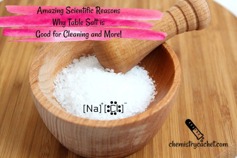Amazing Scientific Reasons why Table Salt is Good for Cleaning and More!