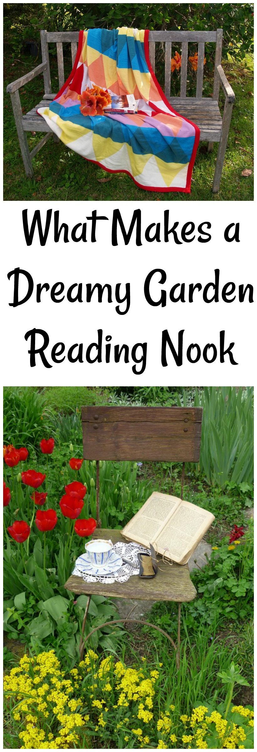 What Makes a Dreamy Garden Reading Nook