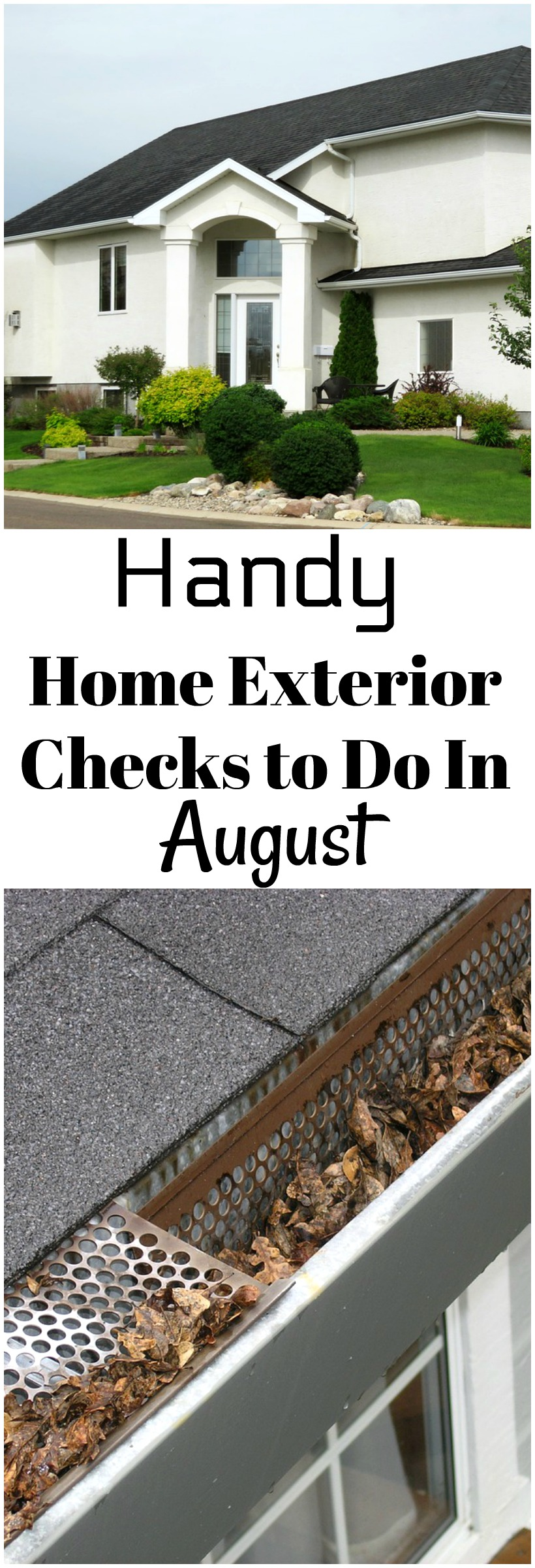 Handy Summer Exterior Home Checks to Do in August